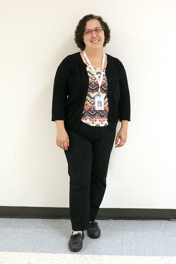Social Studies teacher Molly Deramus