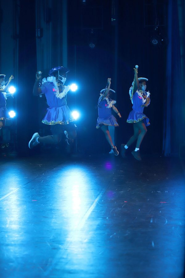 SweetTarts perform during Spring Show